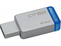 USB KLJUČ 64GB KINGSTON TD50 3,1/3,0 SREBRN